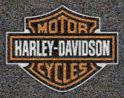 Harley-Davidson Photo Mosaic