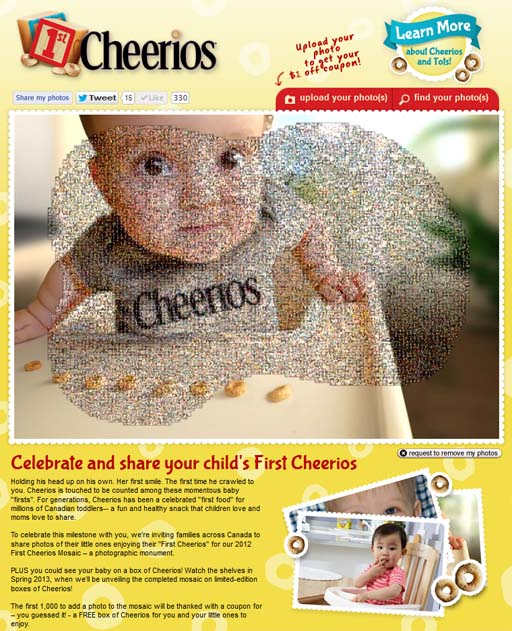 cheerios screenshot