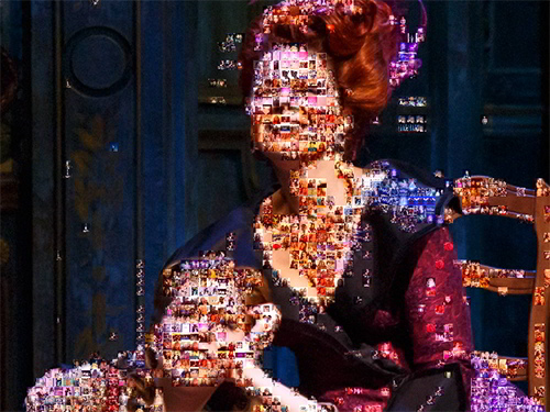 The Cinderella Fan Mosaic