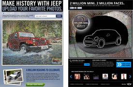 Jeep and Mini photo mosaic