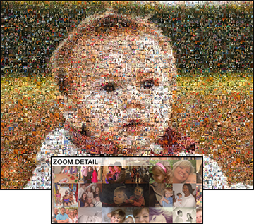 EasyMoza Photo Mosaic