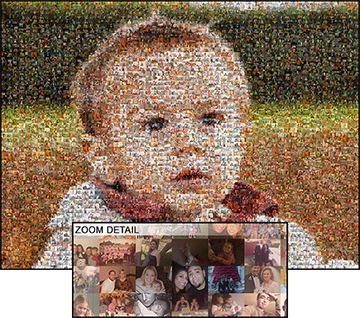 Picture Mosaics Photo Mosaic